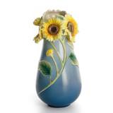 Franz Porcelain Sunflower Vase, MPN: FZ01404