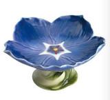 Franz Porcelain Periwinkle Compote Bowl, MPN: FZ01277