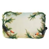 Franz Porcelain Paradise Calls Toucan Ornamental Platter, MPN: FZ01261