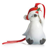 Franz Porcelain Holiday Greetings Penguin Ornament, MPN: FZ02240