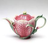 Franz Porcelain Fritillary Flower Teapot, MPN: FZ00993