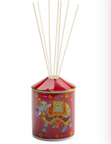 Halcyon Days Ceremonial Indian Elephant Red Gold Reed Diffuser, MPN: BCCIE06DFG