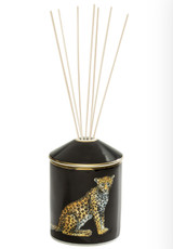 Halcyon Days MW Leopard Black Gold Reed Diffuser, MPN: BCMWL02DFG