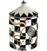 Halcyon Days Snakes & Ladders Oud Imperial Lidded Candle, MPN: BCSAL02LCP