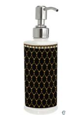 Halcyon Days Gordon Castle Antler Trellis Black Soap Dispenser, MPN: BCGAT02SZG
