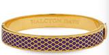 Halcyon Days 1cm Salamander Amethyst Gold Hinged Bangle Bracelet, MPN: HBSAL1310G