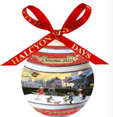 Halcyon Days 2021 Christmas Bauble Ornament, MPN: BCCH2101XBN