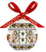 Halcyon Days Woodland in the Snow Bauble Ornament, MPN: BCWIS03XBN