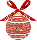 Halcyon Days Candy Cane Bauble Ornament, MPN: BCCDC06XBN
