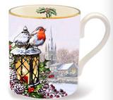 Halcyon Days Christmas Robin Mug, MPN: BCCRB01MGG