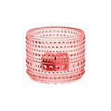 iittala Kastehelmi Tealight Candleholder Salmon Pink 2.5 Inch, MPN: 1007715, EAN: 6411920061325