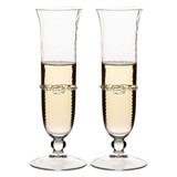 Juliska Graham Set of Two, Toasting Champagne Flutes MPN: B560D/C/S2, UPC: 810034834614