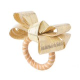 Juliska Tuxedo Gold Napkin Ring MPN: LR48/14, UPC: 810034833082