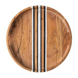 Juliska Stonewood Stripe Round Tray MPN: MS09/390, UPC: 810882036659