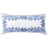 Juliska Iberian Journey Indigo 12 Inch x 27 Inch Pillow MPN: PW07/046, UPC: 810034834690