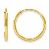 Madi K Endless Hoop Earrings - 14k Gold GK565