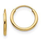 Madi K Endless Hoop Earrings - 14k Gold SE1724