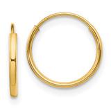 Madi K Endless Hoop Earrings - 14k Gold SE184