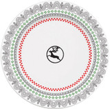 Gien Scandinavian Winter, End Of Line Pattern Coasters Flake, MPN: 2306C2DF20, UPC/EAN: 3660838017488