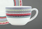 Gien Scandinavian Winter, End Of Line Pattern Jumbo Cup, MPN: 2306TJUM01, UPC/EAN: 840769078175