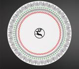Gien Scandinavian Winter, End Of Line Pattern Coasters Reindeer, MPN: 2306C2DR20, UPC/EAN: 3660838017495