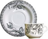 Gien Tulipes Tea Cups & Saucers, MPN: 17012PTH50, UPC/EAN: 840769063867
