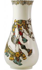 Gien Chevaux Du Vent Handpainted Vase Musee Small, MPN: 1771CV0M00, UPC/EAN: 840769104409