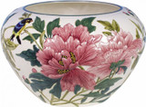 Gien Fleurs & Oiseaux Flowerpot Holder Peonies & Birds, MPN: 1272CCAC00, UPC/EAN: 840769012315