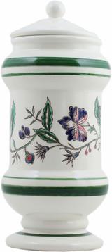 Gien Dominote Handpainted Pharmacy Jar Floral, MPN: 1846PPP100, UPC/EAN: 840769088341