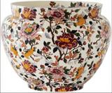 Gien Pivoines Flowerpot Holder Fontainebleau Large, MPN: 0120CCF531, UPC/EAN: 840769017693