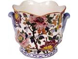 Gien Pivoines Flowerpot Holder Niederwiller, MPN: 0120CCN431, UPC/EAN: 840769005706