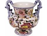 Gien Pivoines Vase Faenza Dragon , MPN: 0120CVDR31, UPC/EAN: 840769006512