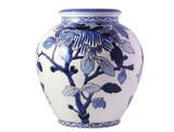 Gien Pivoines Bleues Vase Cremone , MPN: 1665CV2CSG, UPC/EAN: 840769049663