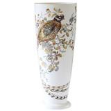Gien Sologne Handpainted Vase Fuseau Pheasant, MPN: 1819CVFU31, UPC/EAN: 840769009414