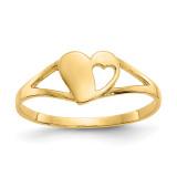Madi K Heart Baby Ring - 14k Gold SE2389