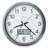Chronicle Metallic Gray Finish Quartz Wall Clock MPN: GM1468 UPC: 20867251957