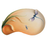 Franz Porcelain Dragonfly Ornamental Platter , MPN: FZ01301
