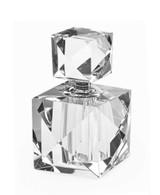 Tizo Square Crystal Glass Diamond Perfume Bottle, MPN: PH128PB