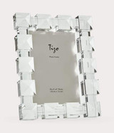Tizo Diamond Crystal Glass Photo Picture Frame 5 x 7 Inch, MPN: PH2500-57