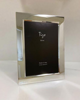 Tizo Silver-plated Plain Bevel Photo Picture Frame 5 x 7 Inch, MPN: 1310-57
