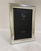Tizo Silver-plated Heavy Hammered Photo Picture Frame 4 x 6 Inch, MPN: 7202-46