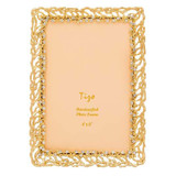 Tizo Roots of Life Jewel-tone Photo Picture Frame Gold 5 x 7 Inch, MPN: RS1712GL57