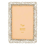 Tizo Roots of Life Jewel-tone Photo Picture Frame Silver 4 x 6 Inch, MPN: RS1712SL46