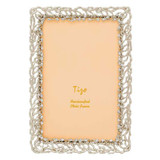 Tizo Roots of Life Jewel-tone Photo Picture Frame Silver 5 x 7 Inch, MPN: RS1712SL57