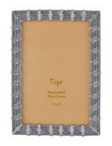 Tizo Bi-Meshy Jewel-tone Photo Picture Frame Silver 4 X 6, MPN: RS1715SL46