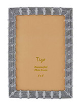 Tizo Bi-Meshy Jewel-tone Photo Picture Frame Silver 5 X 7, MPN: RS1715SL57