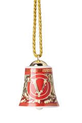 Versace Virtus Holiday Bell Ornament 2 3/4 Inch, MPN: 14089-409949-27911, UPC: 790955174269