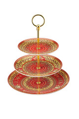 Versace Virtus Holiday Etagere 3 Tiers 7, 8 1/2 , 10 1/2 Inch, MPN: 19335-409949-25311, UPC: 790955174313