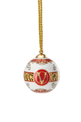 Versace Virtus Holiday Globe Ornament 3 Inch, MPN: 14283-409949-27940, UPC: 790955174320