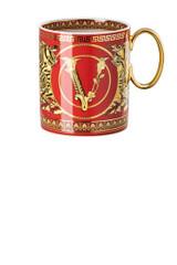 Versace Virtus Holiday Mug With Handle , MPN: 19335-409949-15505, UPC: 790955174337